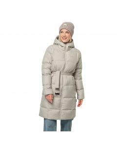 Płaszcz puchowy damski FROZEN LAKE COAT W Dusty Grey