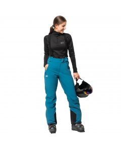 Spodnie EXOLIGHT PANTS WOMEN celestial blue