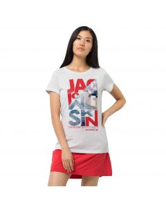 T-shirt damski NAVIGATION T W white cloud
