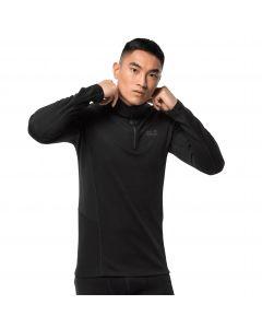 Koszulka funkcjonalna męska  ARCTIC XT HALF ZIP MEN black