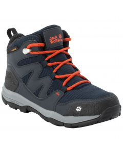 Buty trekkingowe dziecięce MTN ATTACK 3 TEXAPORE MID K dark blue / orange