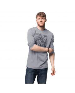 Koszulka z długim rękawem OCEAN LONGSLEEVE M slate grey