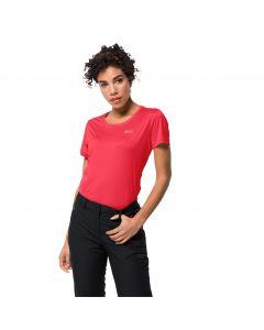 Koszulka sportowa damska TECH T W tulip red