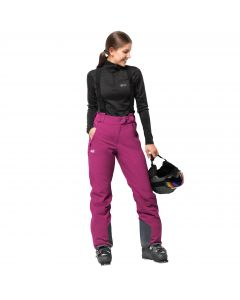 Spodnie EXOLIGHT PANTS WOMEN fuchsia
