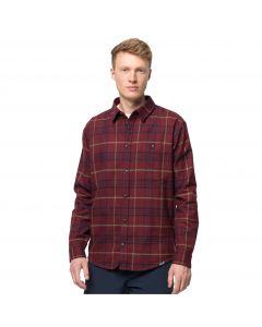 Męska koszula flanelowa CABIN VIEW SHIRT M Cordovan Red Checks