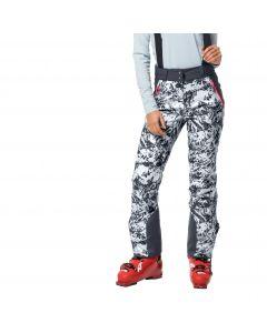 Spodnie narciarskie damskie PANORAMA PEAK PANTS W ebony all over