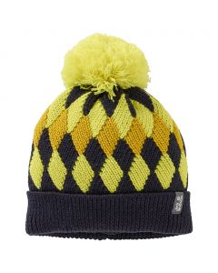Czapka DIAMOND KNIT CAP KIDS night blue