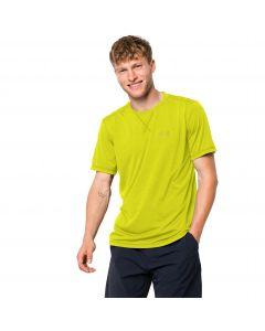 Koszulka męska CROSSTRAIL T MEN flashing green