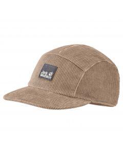 Czapka z daszkiem NATURE CORDUROY CAP Beige
