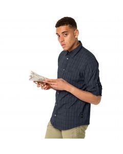 Koszula męska RAYS FLEX SHIRT M night blue checks
