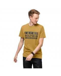 Męski T-shirt BRAND T M Golden Amber
