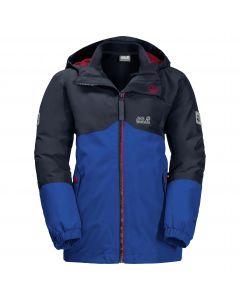 Chłopięca kurtka 3w1 B ICELAND 3IN1 JKT Active Blue