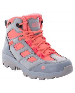 Buty turystyczne dziecięce VOJO TEXAPORE MID K grey pink