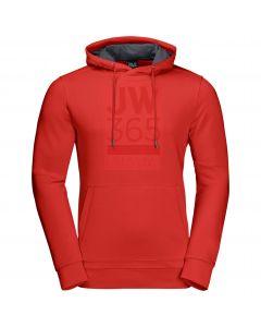 Bluza z kapturem 365 HOODY M lava red