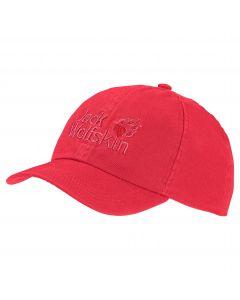 Czapka dziecięca KIDS BASEBALL CAP tulip red