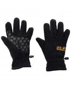 Rękawiczki dla dziecka FLEECE GLOVE KIDS black