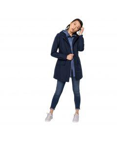 Płaszcz przeciwdeszczowy damski CAPE YORK COAT W midnight blue