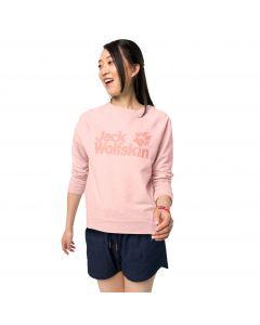 Bluza damska LOGO SWEATSHIRT W blush pink