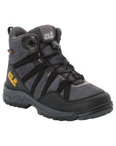 Buty trekkingowe dla dzieci THUNDERBOLT TEXAPORE MID K black / dark grey