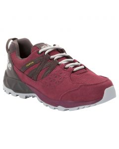Damskie buty trekkingowe CASCADE HIKE TEXAPORE LOW W burgundy / dark steel
