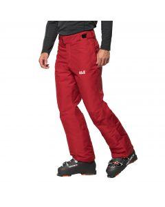 Męskie spodnie narciarskie POWDER MOUNTAIN PANTS M red lacquer