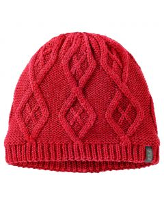 Czapka PLAIT CAP WOMEN red fire