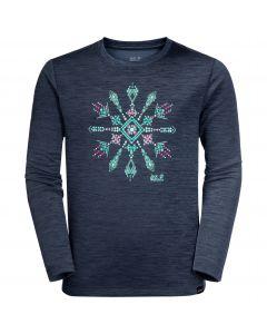Koszulka dla dzieci VARGEN LONGSLEEVE KIDS midnight blue