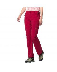 Spodnie softshell ACTIVATE LIGHT PANTS WOMEN scarlet