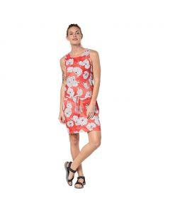 Sukienka MARIGOLD DRESS hot coral all over