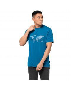T-shirt męski JWP WORLD T M blue pacific