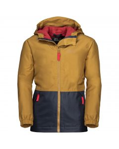 Dziecięca kurtka zimowa SNOWY DAYS JACKET KIDS golden amber