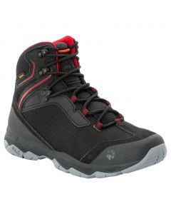 Buty trekkingowe męskie ROCK HUNTER TEXAPORE MID M black / red