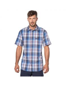 Koszulka HOT CHILI SHIRT MEN night blue checks