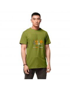 T-shirt męski 365 HIDEAWAY T M green tea