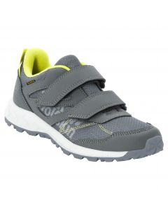 Buty dziecięce WOODLAND TEXAPORE LOW VC K grey / light green