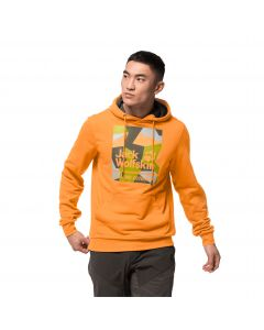 Bluza męska 365 HIDEAWAY HOODY M orange crush