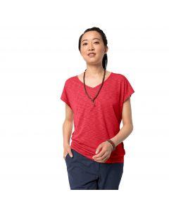 T-shirt damski TRAVEL T W tulip red