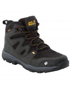 Buty trekkingowe dziecięce MTN ATTACK 3 TEXAPORE MID K Black / Burly Yellow Xt