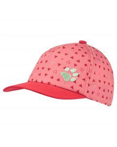 Czapka z daszkiem dla dzieci SPLASH CAP KIDS apricot coral all over