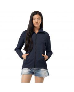 Bluza polarowa damska BILBAO JACKET W midnight blue