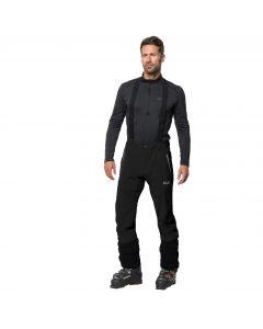 Męskie spodnie narciarskie GRAVITY TOUR PANTS MEN black