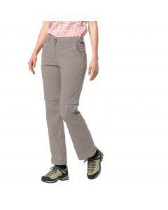 Spodnie softshell ACTIVATE LIGHT ZIP OFF WOMEN moon rock