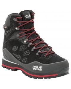 Buty w góry męskie WILDERNESS PEAK TEXAPORE MID M black / red