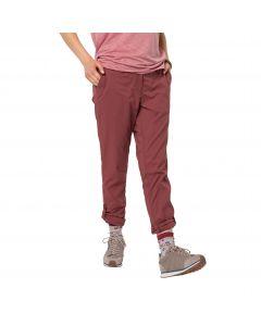 Spodnie damskie DESERT ROLL-UP PANTS W auburn