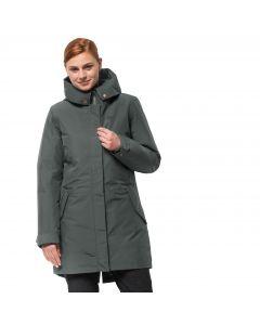 Płaszcz 3w1 damski MONTEREY BAY COAT greenish grey