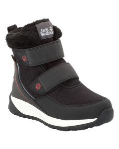 Buty dla dzieci zimowe POLAR WOLF TEXAPORE MID VC K black / white