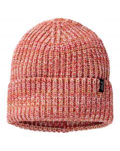 Czapka zimowa SNOW FLURRY CAP Coral Red