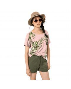 Koszulka damska TROPICAL LEAF T W blush pink