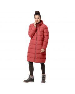 Płaszcz puchowy damski CRYSTAL PALACE COAT Coral Red