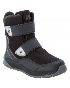Buty zimowe dla dzieci POLAR BEAR TEXAPORE HIGH VC K black / grey